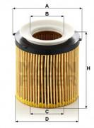 Масляный фильтр MANN HU 8002 X KIT