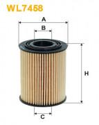 Масляный фильтр WIX WL7458