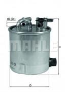 Топливный фильтр KNECHT KL44023