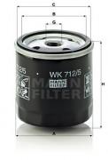 Топливный фильтр MANN WK 712/5