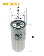 Топливный фильтр WIX WF8057