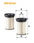 Топливный фильтр WIX WF8546