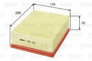 Воздушный фильтр VALEO 585011