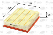 Воздушный фильтр VALEO 585018