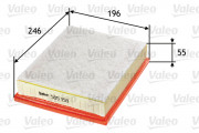Воздушный фильтр VALEO 585158