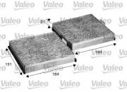 Фильтр салона угольный VALEO 715568