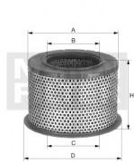 Воздушный фильтр MANN C 2375