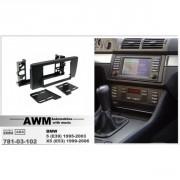 Переходная рамка AWM 781-03-102 для BMW 5 series (E39) 1995-2003, 2 DIN