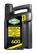 Моторное масло Yacco VX 600 5W-40