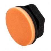 Оранжевый аппликатор для ручной полировки кузова Adam's Polishes Orange Polishing Hex Grip Applicator