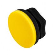 Аппликатор для нанесения воска, герметиков Adam's Polishes Yellow Waxing Hex Grip Applicator