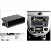 Переходная рамка AWM 781-10-051 для Chevrolet Lacetti, Nubira 2004+, 1 DIN