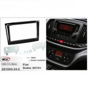 Переходная рамка ACV 381094-34-2 для Fiat Doblo (263) 2010+ / Opel Combo 2012+, 2 DIN
