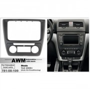 Переходная рамка AWM 781-08-109 для Skoda Yeti 2014+, 2 DIN