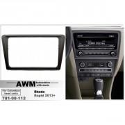 Переходная рамка AWM 781-08-112 для Skoda Rapid 2013+, 2 DIN