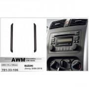 Переходная рамка AWM 781-33-106 для Suzuki Jimny 2006-2016, 2 DIN