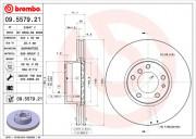 Тормозной диск BREMBO 09.5579.21