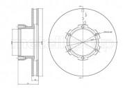 Тормозной диск METELLI 23-1715