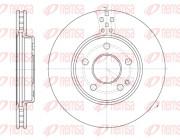 Тормозной диск REMSA 61029.10