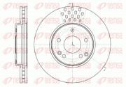 Тормозной диск REMSA 61225.10