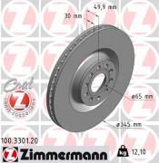 Тормозной диск ZIMMERMANN 100.3301.20