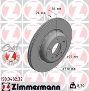 Тормозной диск ZIMMERMANN 150.3482.32
