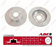 Тормозной диск ABE C30309ABE