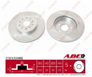 Тормозной диск ABE C32122ABE