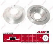 Тормозной диск ABE C42078ABE