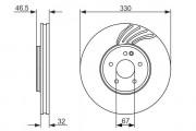 Тормозной диск BOSCH 0986479719