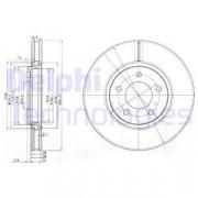 Тормозной диск DELPHI BG3716