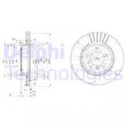 Тормозной диск DELPHI BG3527C