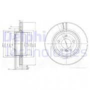 Тормозной диск DELPHI BG3938