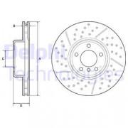 Тормозной диск DELPHI BG9234C