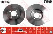 Тормозной диск TRW DF1569