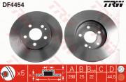 Тормозной диск TRW DF4454