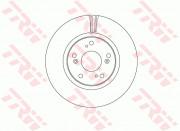 Тормозной диск TRW DF6689