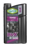 Полусинтетическое трансмиссионное масло Yacco BVX R 500 75W-80 GL-4+