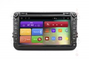 Штатная магнитола RedPower 31004 DVD IPS для Volkswagen, Skoda, Seat (Android 7+)