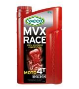 Мотоциклетное моторное масло Yacco MVX RACE 4T 15W-50