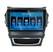 Штатная магнитола EasyGo A410 для Hyundai ix45, Santa Fe 2012+ (Android 7.0)
