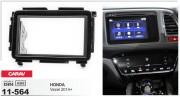 Переходная рамка Carav 11-564 для Honda Vezel 2014+, 2 DIN