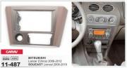 Переходная рамка Carav 11-487 для Mitsubishi Lancer IX 2006-2012, Soueast Lioncel 2006-2010, 2 DIN