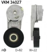 Ролик натяжителя ремня SKF VKM 34027