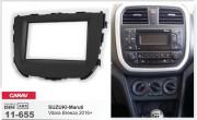 Переходная рамка Carav 11-655 для Suzuki-Maruti Vitara Breeza 2016+, 2 DIN