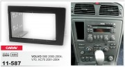 Переходная рамка Carav 11-587 для Volvo S60 2000-2004, V70, XC70 2001-2004, 2 DIN