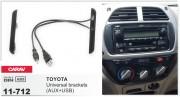 Carav Переходная рамка (боковые вставки) Carav 11-712 для Toyota Universal, 2 DIN