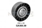 Ролик натяжителя ремня SNR GA350.39