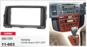 Переходная рамка Carav 11-603 для Toyota Corolla Spacio 2001-2007, 2 DIN