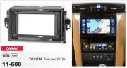 Переходная рамка Carav 11-600 для Toyota Fortuner 2015+, SW4 2016+, 2 DIN